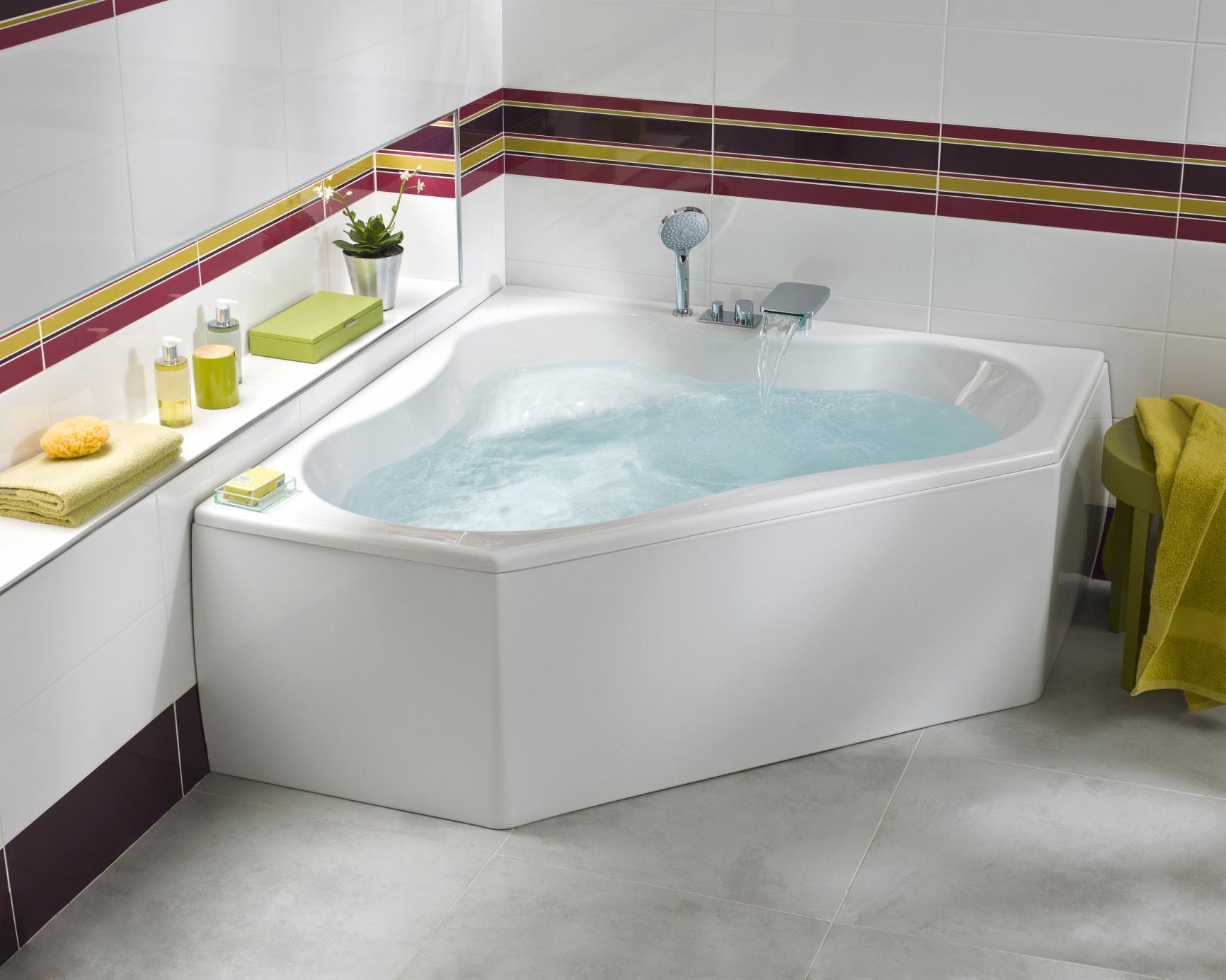 ment installer une baignoire d angle